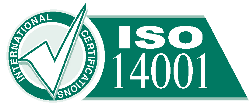 Certificated ISO 14001